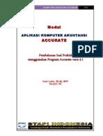 Modul Praktik Komputer Akuntansi Accurate 4 1 Stapi Indonesia 2012