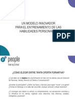 Presentación PEOPLE Training School