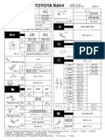 RAV4 SDS (Service Delivery Sheet)