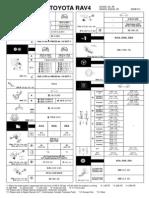 RAV4 SDS (Service Delivery Sheet)