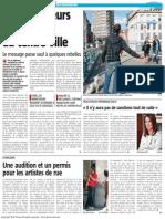 La Nouvelle Gazette - Les Mancheurs Ont Disparu Du Centre Ville - 02.10.13