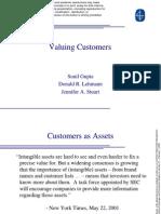 Valuing Customers Msi Presentation