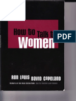129638203 Ron Louis TALK to WOMEN Pick Up Seduction