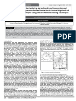 Re-Exploring Agricultural Land Conversion and 