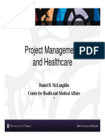 Project Management Healthcare