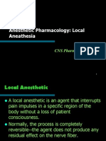 - Local Anesthetic May2010