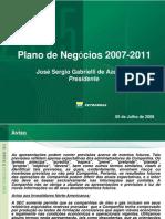 Estratégia corporativa da PETROBRAS 2007-2011