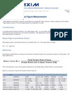Noise Figure Measurement AN2875