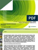 Estratégia corporativa da PETROBRAS 2008-2012