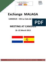 INFORMACIÓN INTERCAMBIO HOLANDA 12-13