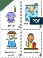 Daily Cards, vocabulary