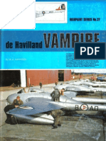 (Warpaint Series No.27) de Havilland Vampire