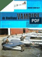 (Warpaint Series No.27) de Havilland Vampire