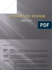 Literature Review (dR.shirley)