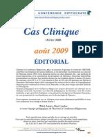 Cas Clinique Aout 09