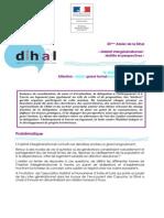 Programme du 25e Atelier de la Dihal