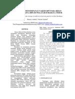 Assessment Penyimpanan Vaksin Dpt Pada Bidan Praktik Swasta (Bps) Di Wilayah Surabaya Timur
