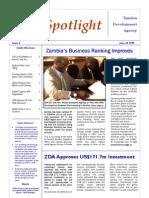 ZDA Spotlight - June 2009