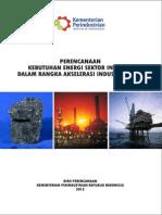 Buku Perencanaan Kebutuhan Energi Sektor Industri