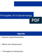 eGov Principles