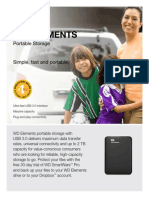 Western Digital Elements Portable Hard Drives
