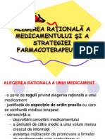 Prescrierea Rationala a Medicamentelor
