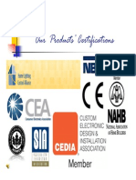 Eloka Product Certifications