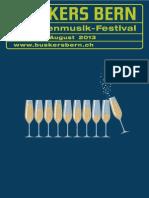 Buskersbern2013 Programmheft Online Version