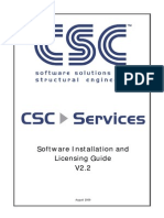 Software Installation and Licensing Guide