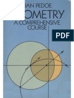 Daniel Pedoe Geometry, A Comprehensive Course 1988