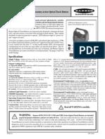 Banner operating manual