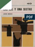 Bosch, Juan Las Mil y Una Sectas