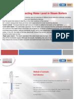 Methods of Detecting Water Level in Steam Boilers
