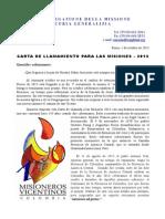 Llamado a misión - Octubre 2013 [ESPAÑOL]