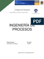 Ingeniería de Procesos Unidad 1