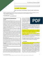 Eco-Efficiency Analysis by BASF DAP