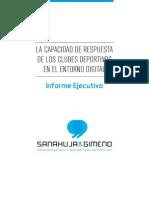 Informe Sanahuja& Gimeno_Capacidad Respuesta Digital Clubes Deportivos
