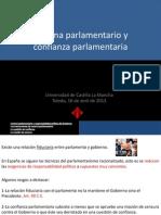 Sistema Parlamentario y Confianza Parlamentaria