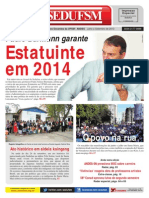 Jornal SEDUFSM Julho a Setembro de 2013