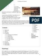 Flute - Wikipedia, The Free Encyclopedia