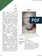Platón - Wikipedia, la enciclopedia libre