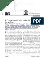 RLDC Octobre 2013_Droit de l'environnement et ventes immobilières