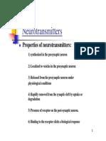 Dr. Abraham S - Neurotransmitters