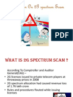 Presentation on 2g Scam