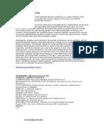 Pathogenesis and Pathology