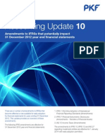 Accounting Update IFRS Amendments