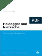 Blond Louis P Heidegger and Nietzsche Overcoming Metaphysics