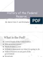 history of federal