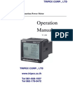 Digital Power Meter Manual MDM3100