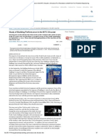 Study of Building Performance in the WTC Disaster